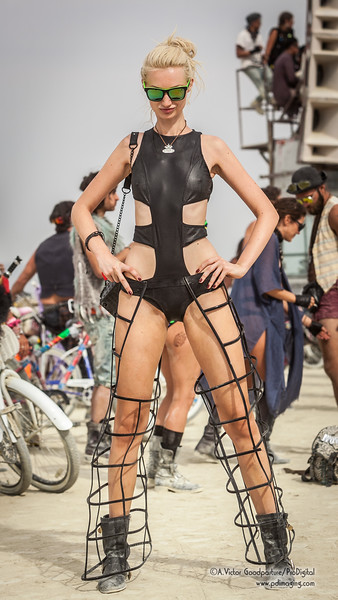 Burning Man brings out the best of original outfits.