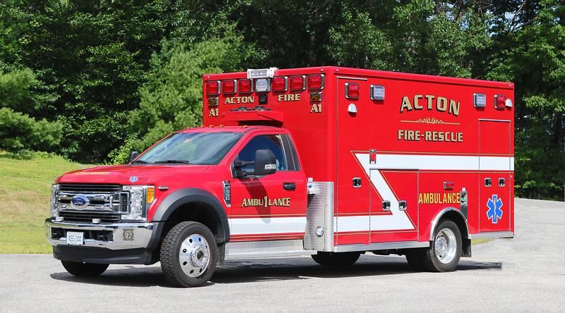 Ambulance 1 .  2017 Ford F-550 / Lifeline