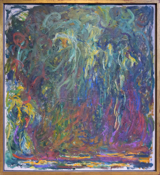 Claude Monet, Weeping Willow, Giverny, 1920 - 1922