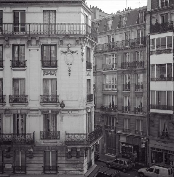 Along Rue Guy-Lussac [Picasso's Studio, Paris, France]