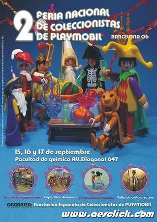 2º Feria Nacional de Coleccionistas de Playmobil