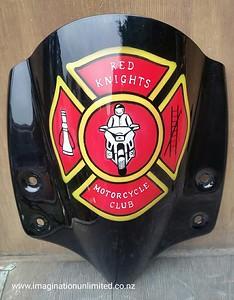 Firemans motorcycle club logo