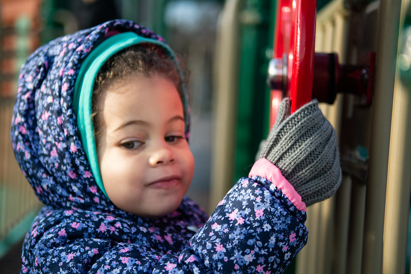 Penelope in the Park (February 3, 2019)