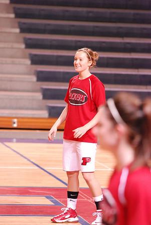Girls Varsity Basketball - 2008-2009 - 3/6/2009 Districts Shelby JG