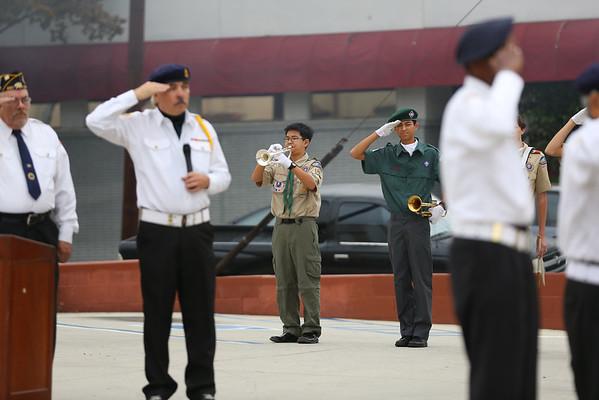 20141111 Veteran's Day Bugling