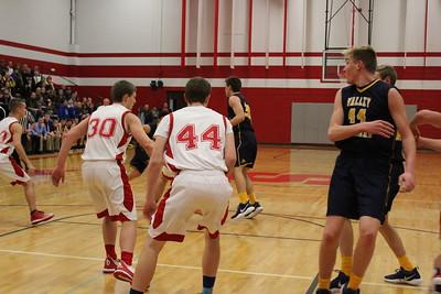 Varsity Boys' Basketball vs Valley Lutheran