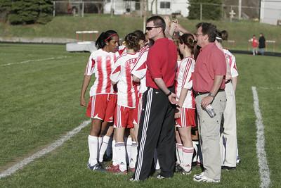 Girls Varsity Soccer - 2006-2007 - 4/20/2007 Cedar Springs