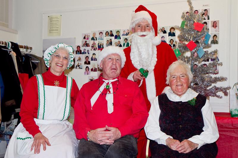 Frank, Barbara, Bob, and Therese