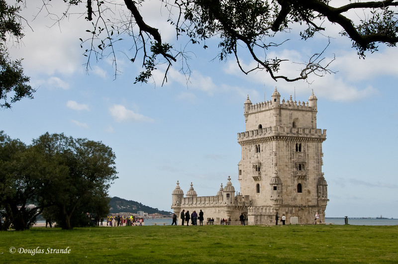 Thur 3/17 in Lisbon: Belem Tower, a fortress built in 1515