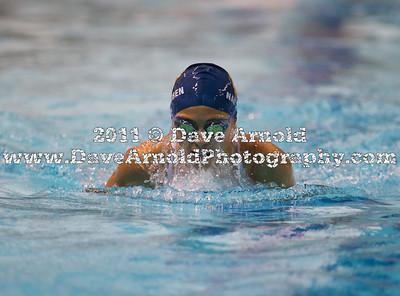 9/20/2011 - Girls Varsity Swimming - Dedham vs Needham