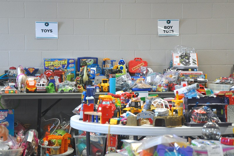 Packed Toy Room