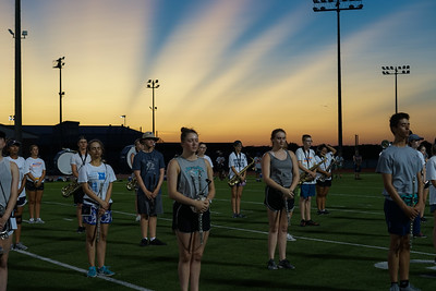 Summer Band Camp Week 4/Parent Preview (Aug 12-13)