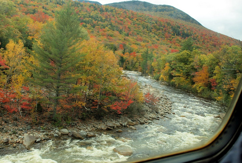 Conway Scenic Railway Trip, New Hampshire