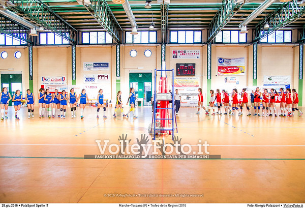 Marche - Toscana [F] #TDRVolley2016