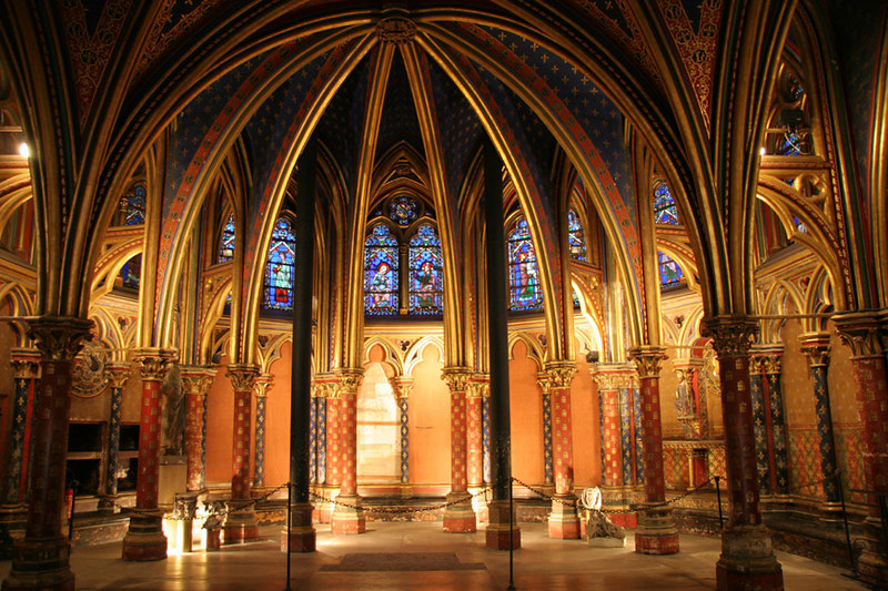 The Lower Chapel at Ste-Chapelle