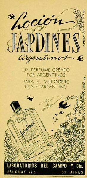 JARDINES ARGENTINOS Loción