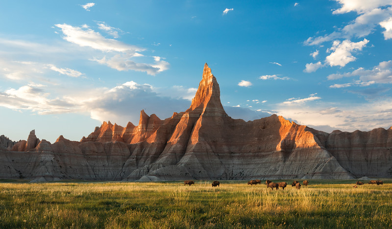 The Badlands  |  South Dakota USA