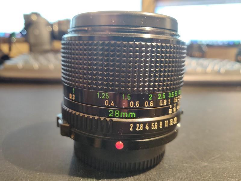 Canon FD 28 mm 2.8 - Serial U704 & 22514 001.jpg