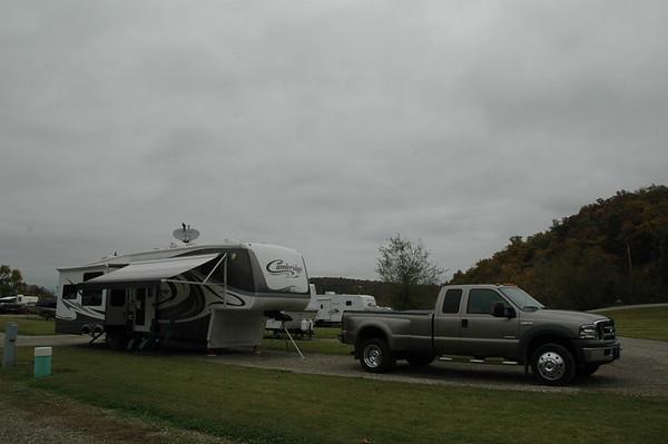 Journal Site 49: Denton Ferry RV Park & White/Buffalo Rivers, Cotter, Arkansas  -  October 25, 2006