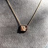 'For You I Live' 18kt Rose Gold Cast Rebus Pendant, by Seal & Scribe 7