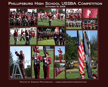 Phillipsburg HS USSBA Band Competition 2009