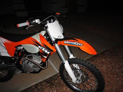 2011-10 New 2011 250 XCF