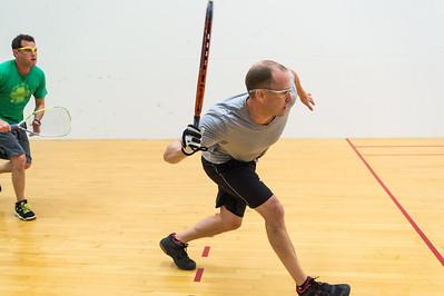 2015-10-17 Men's Singles Open Quarters Dan Fowler over Peter Appel