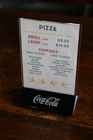 The Chicken ... Pizza / other food items 10/31/2018