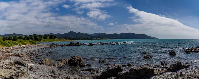 An der Papatea Bay bei Raukokore