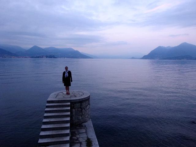 fuzzygalore on lake maggiore