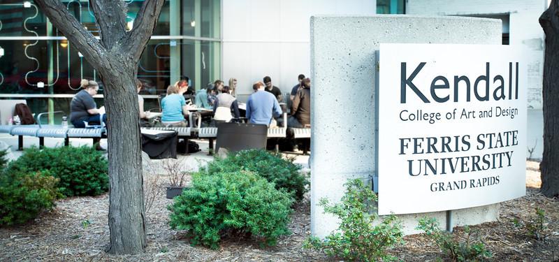 KCAD Main Entrance