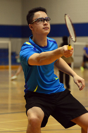 SMS Senior Badminton City Championships - Wednesday April 9, 2014