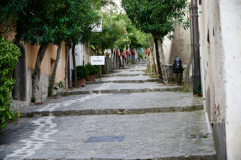 The streets of Ravello