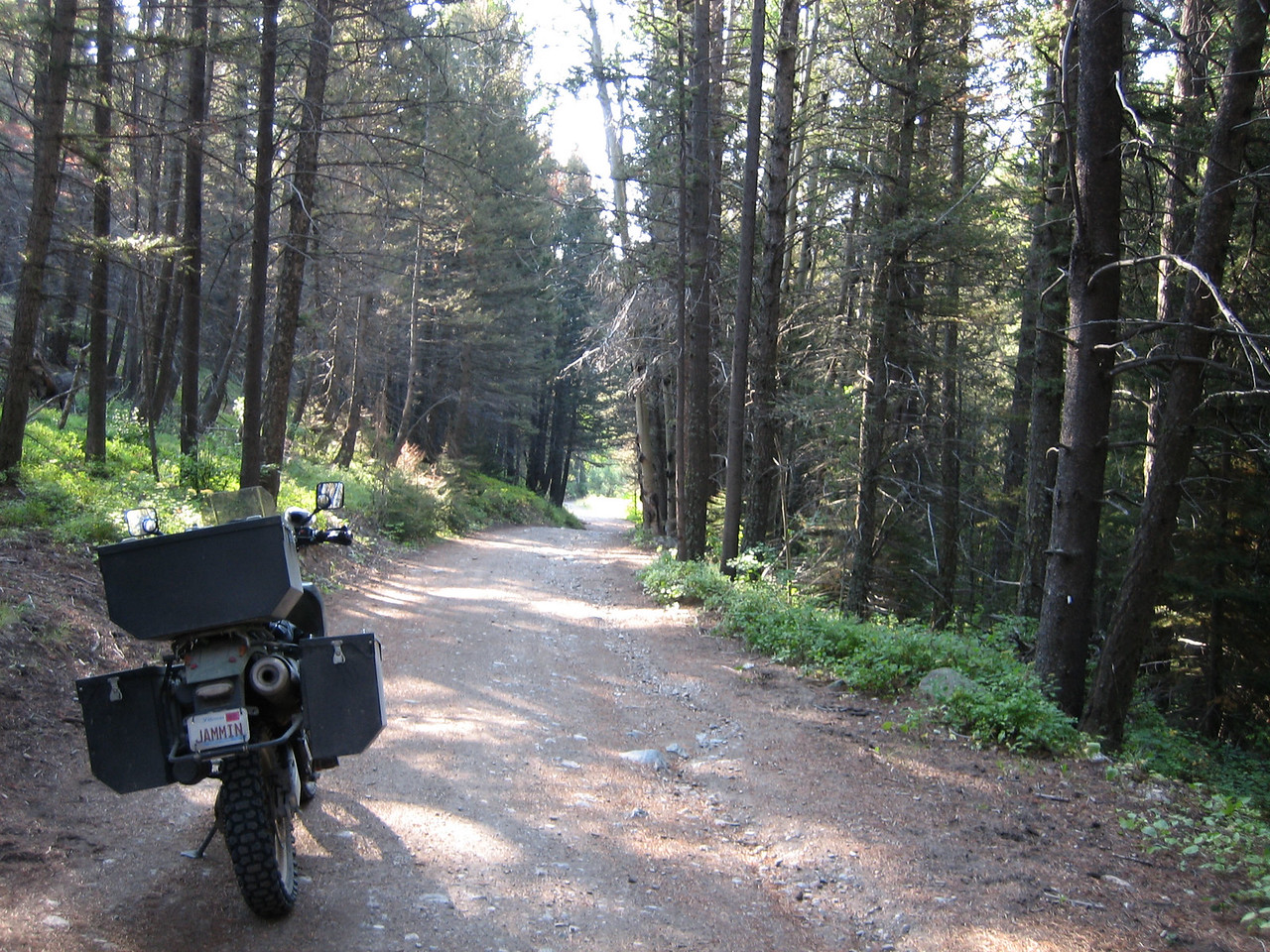 Riding along the Continental Divide, 2009