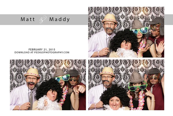 2.21.15 Matt and Maddy Photo Booth