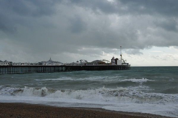Blustery Day Out in Brighton