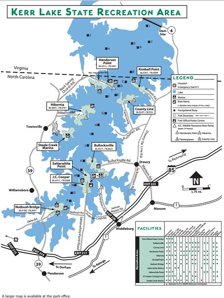 Kerr Lake State Recreation Area