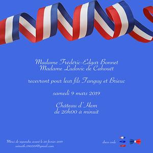 Soirée Brieuc & Tanguy 09 Mars 2019