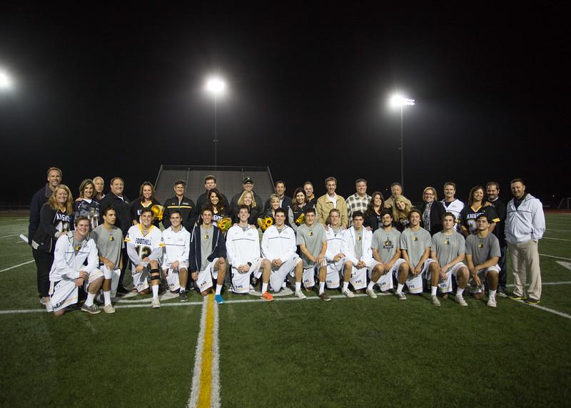 2016 Senior Night Photos
