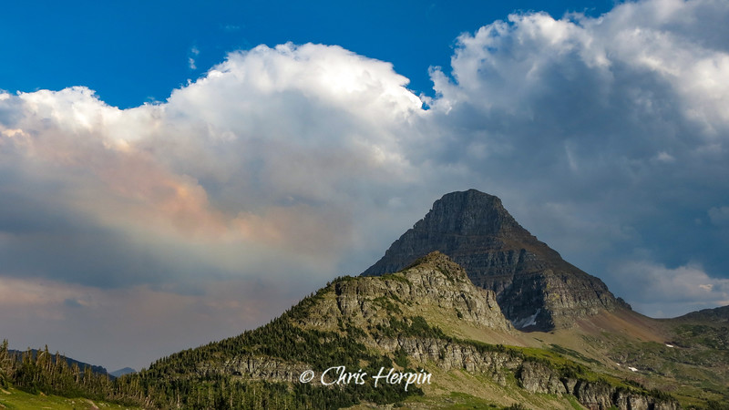 Reynolds Mountain - Glacier National Park, Montana