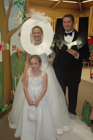 Kindergarten Wedding of Q and U