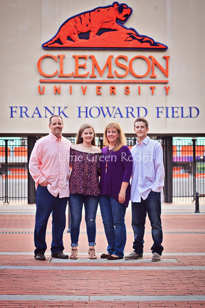 The Forman Family {Clemson Bound}