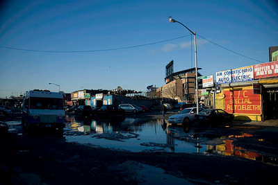 Willets Point. Iron Triangle