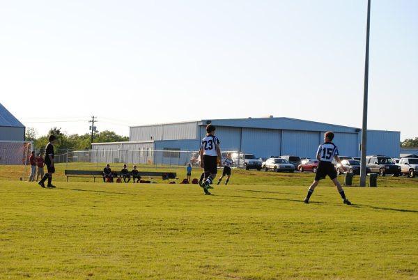 Middle School Boys Soccer 2010
