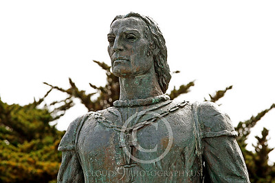Christopher Columbus Statuary Pictures [1451-1506]: Italian explorer who realized Earth is round and sailed the Atlantic in 1492 hoping to find a route to India