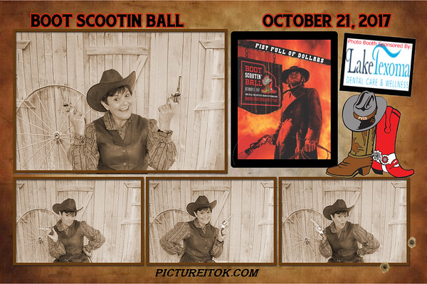 Boot Scootin Ball Prints