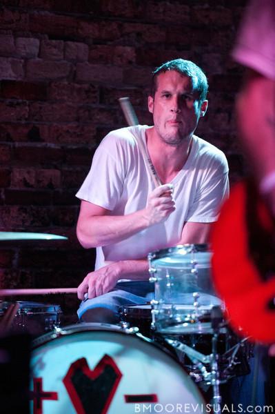 Lovedrug perform on June 13, 2010 at Orpheum in Ybor City, Tampa, Florida