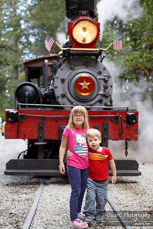 Roaring Camp Railroads (April 2015)
