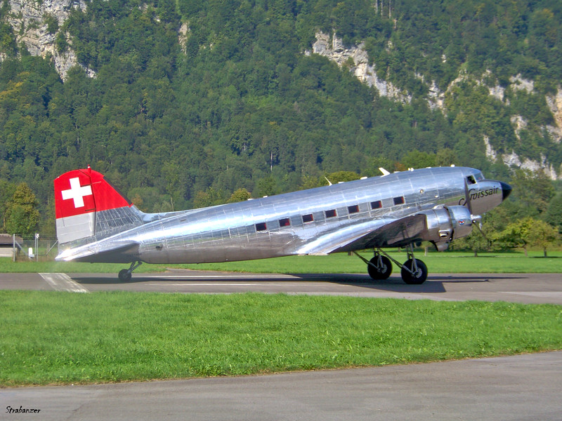 Douglas C-47A-45DL N431HM  c/n 9995     9/7/2013 Zigermeet, Mollis, Switzerland This work is licensed under a Creative Commons Attribution- NonCommercial 4.0 International License