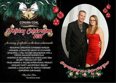 Conuma Christmas Party Tumbler Ridge December 15